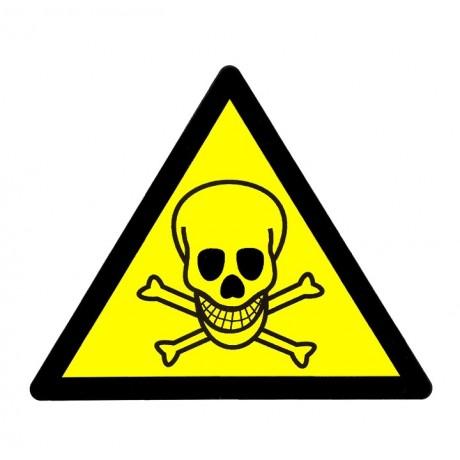 Toxický - samolepka